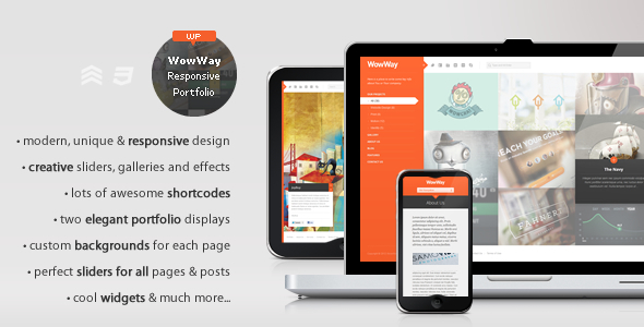 45+ Best Responsive Portfolio WordPress Themes 2016
