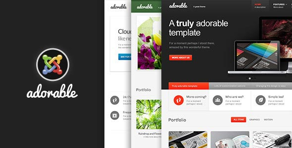 Adorable--Multipurpose-Joomla-Template