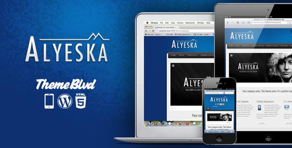Alyeska Responsive WordPress Theme