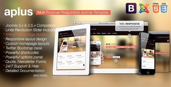 Aplus-Responsive-Multipurpose-Joomla-Template