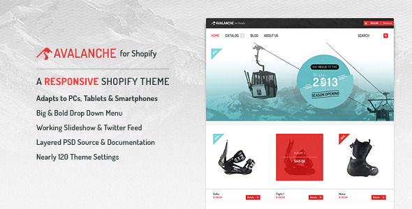 Avalanche for Shopify-Responsive Premium Theme