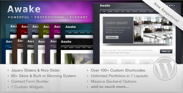Awake - Powerful Professional WordPress Theme