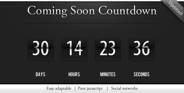 Best Free jQuery Countdown Timer