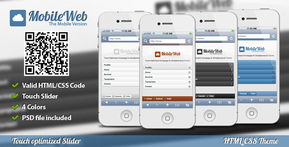 Best Mobile Websites Templates Designs