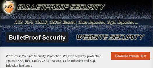 Bullet Proof Security Plugin