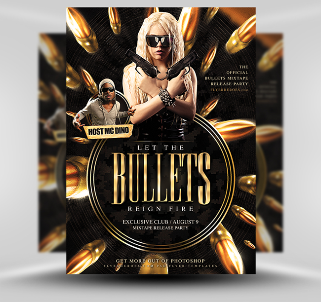 Bullets-Flyer-Template