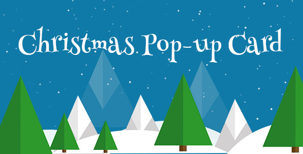 Christmas Pop-Up Card - WordPress Plugin