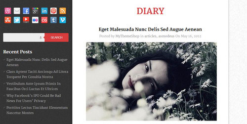 DIARY-Magazine-WordPress-theme