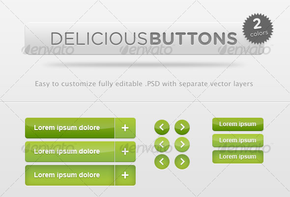 Delicious-Buttons