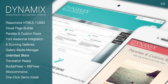 DynamiX - Business-Corporate WordPress Theme