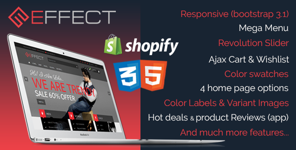 Effect - Responsive Shopify Theme