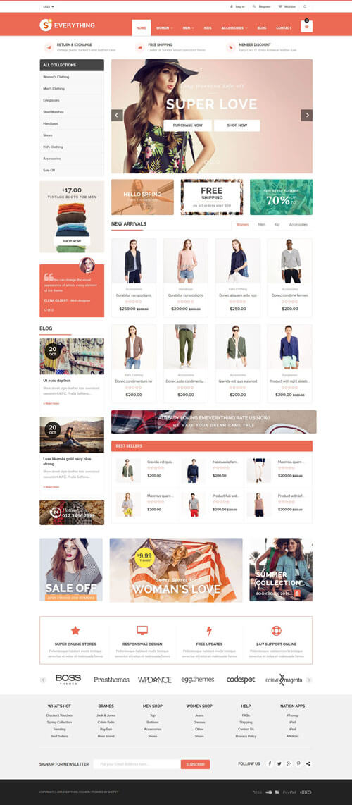 Everything Multipurpose Responsive Shopify Theme