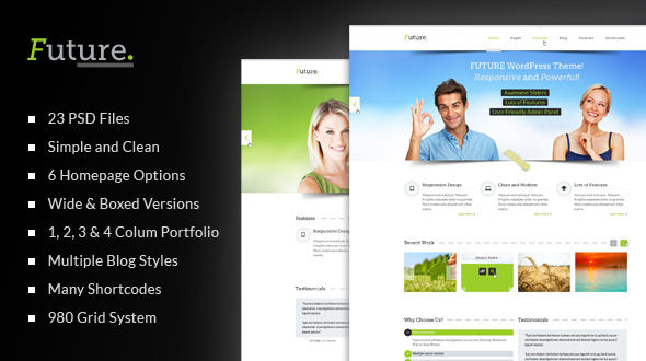 FUTURE – Clean PSD Template