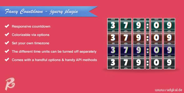 Fancy Countdown - jQuery plugin
