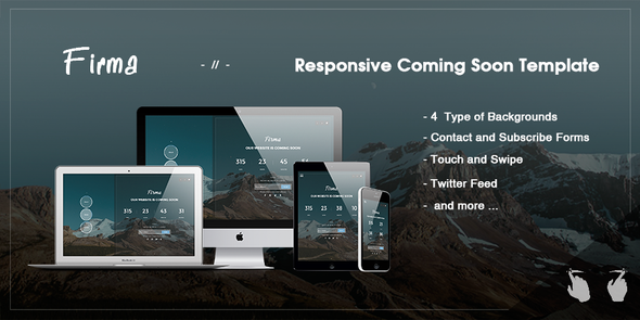 Firma - Responsive Coming Soon Template