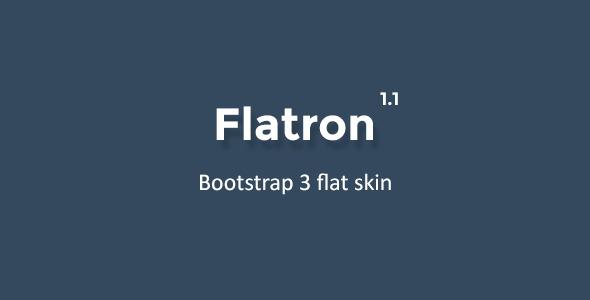 Flatron - Bootstrap 3 Flat Theme