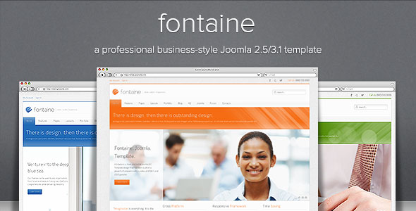 Fontaine-Clean-Responsive-Joomla-Template