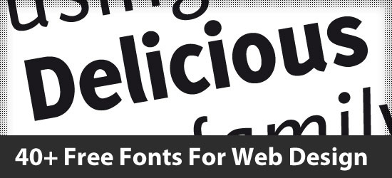 Free-Fonts-For-Web-Design