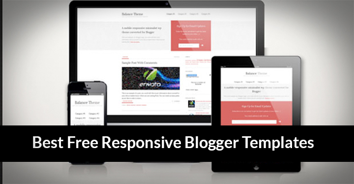 25 Free Responsive Blogger Templates 2016 Free Download