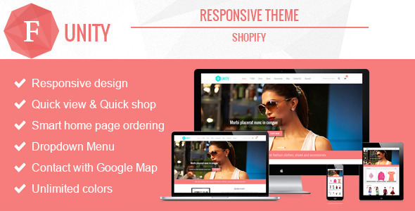 Funity - Responsive Shopify Theme