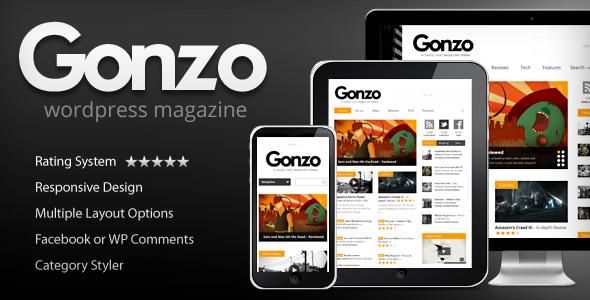 Gonzo - Clean Responsive WP Magazine