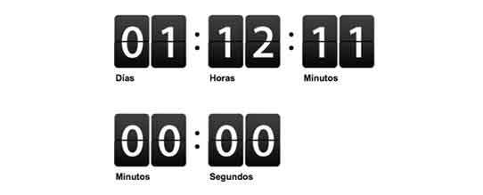 Google Countdown Timer