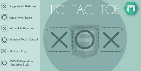 HTML5 Tic Tac Toe