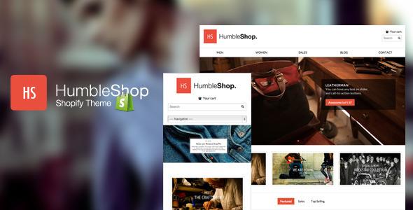 Humbleshop - Minimal Responsive Shopify Theme