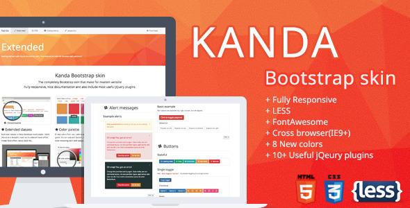 Kanda Bootstrap skin