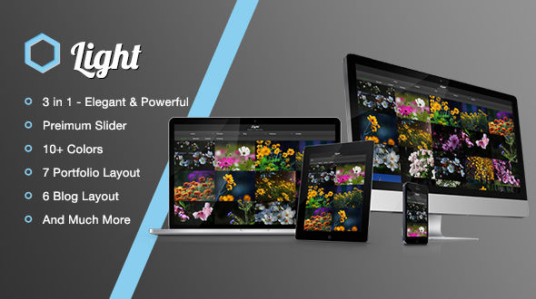 Light – A Responsive Multi-Purpose HTML Template