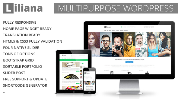 Liliana Premium Multipurpose Flexible Wp Theme