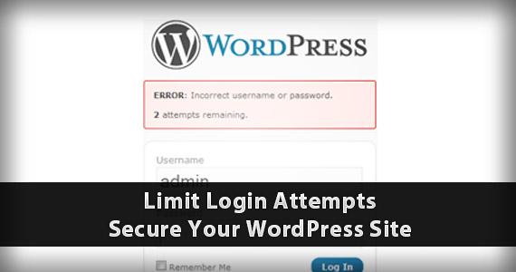 Limit Login Attempts Security WordPress Plugins