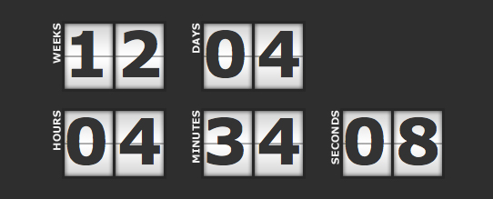 Little Web Things Countdown Script