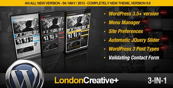 London Creative-Portfolio & Blog WP Theme