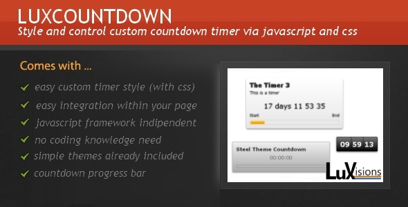 35+ Best Free jQuery Countdown Timer - DesignMaz