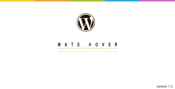 Mate Hover-WordPress Plugin