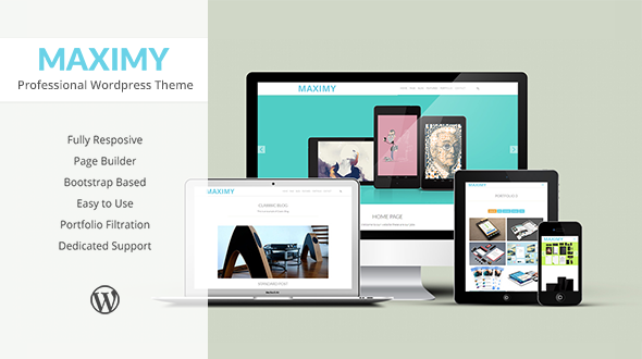 Maximy Creative Responsive Theme WordPress