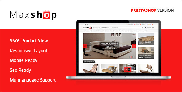 Maxshop - Premium Prestashop Shopping Theme