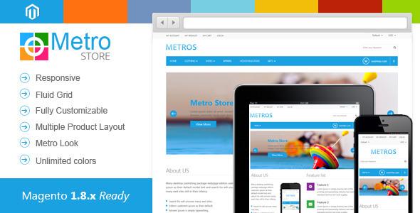 Metro Store-Responsive Premium Magento Theme