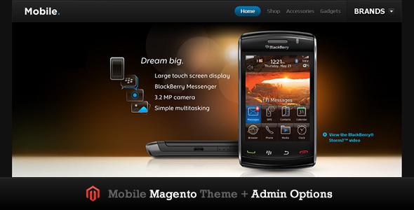 Mobile Magento Theme