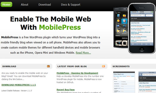 MobilePress - WordPress mobile plugins