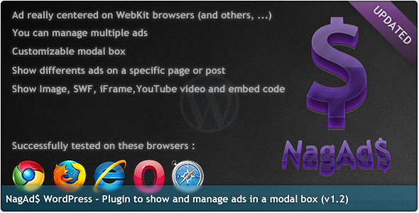 NagAds - WordPress Plugin