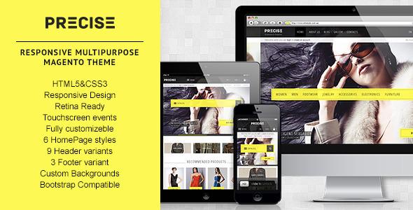 Precise-Multipurpose Responsive Magento Theme