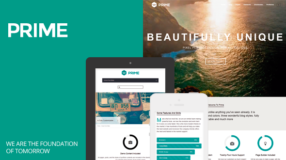 Prime-Responsive and Multipurpose WordPress Theme
