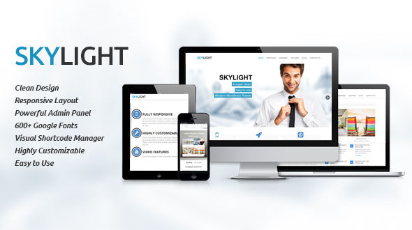 Skylight-Clean and Responsive Multipurpose Theme