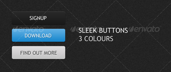 Sleek Web Buttons
