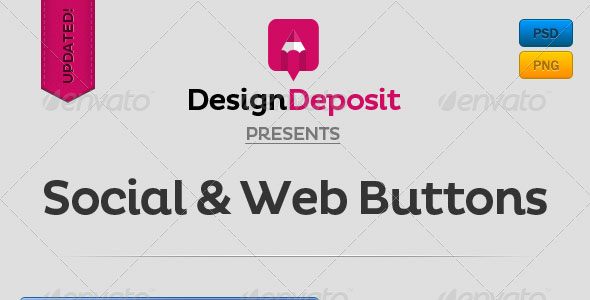 Social-and-Web-Buttons-Pack