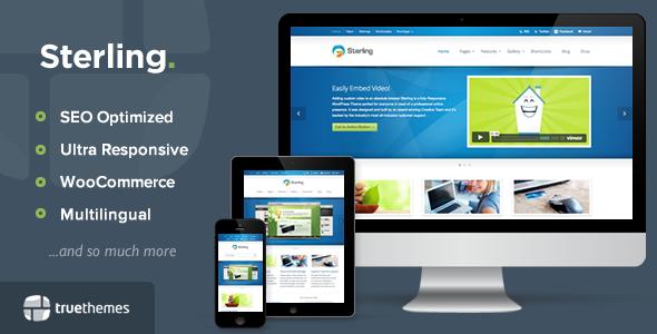 Sterling - Responsive WordPress Theme