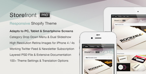 Storefront Pro for Shopify-Premium Theme