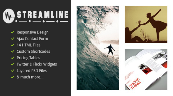 Streamline – Responsive Multi-Purpose Template